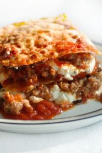 A recipe box isn't complete without this classic. #delallo #lasagna #recipe