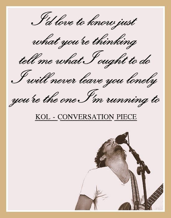 Kings Of Leon - Conversation Piece lyric #KOL #WALLS  #Conversation_Piece #music #lyrics