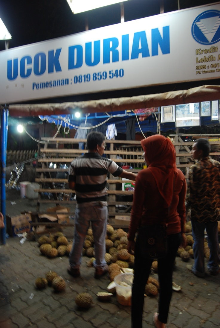 Ucok Durian, Medan, North Sumatera, Indonesia... delicious yummy....