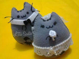 Gato Pusheen - Lembrancinhas