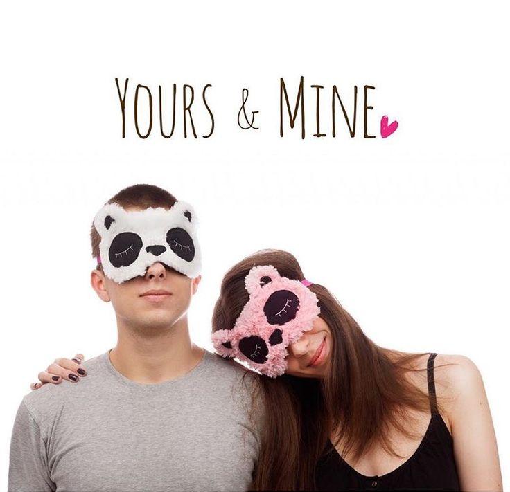eye mask sleep masks tavel gifts  friendship gifts gifts for couple Christmas gifts couple goals bear sleep masks