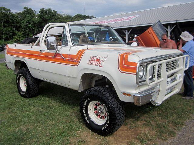 1978 Dodge Ramcharger Top Hand By Splattergraphics, Via