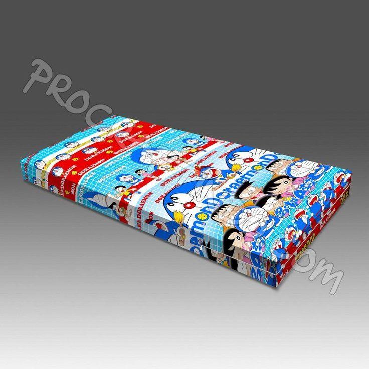 Sarung Kasur Busa Doraemon. All Size Now Available dengan pilihan ketebalan 15 dan 20cm. Bahan Katun! Lebih tebal dari material regular sarung kasur busa yang biasa beredar di pasar Kasur atau Spon Busa. Info dan pemesanan bisa melalui pin bbm 2B537F42.