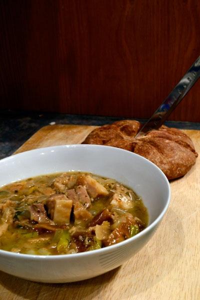 Pass the Garum: Pork and Fruit Minutal for a Roman feast