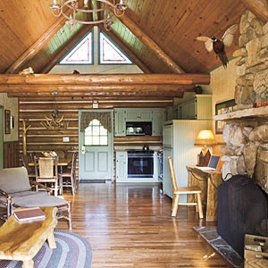 10 Secrets of Big Cedar Lodge | 5: The furniture is driftwood | SouthernLiving.com