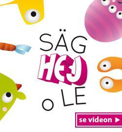 Säg hej o le – en kompiskampanj för barn i daghems- och förskoleåldern - folkhalsan.fi