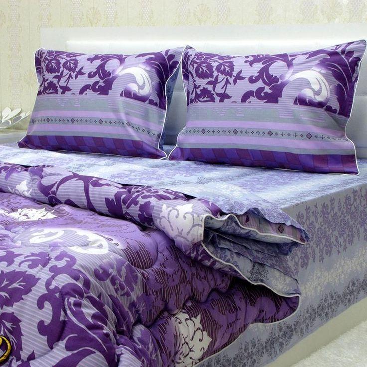 Completo lenzuola matrimoniale con copripiumino 100% cotone *Elen*  Qualità eccezionale a prezzi piccoli
