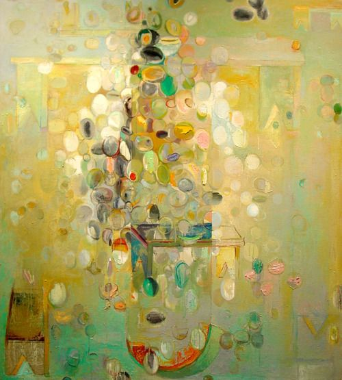 Mary Quite Contrary - The abstract art ofBryan McFarlane.