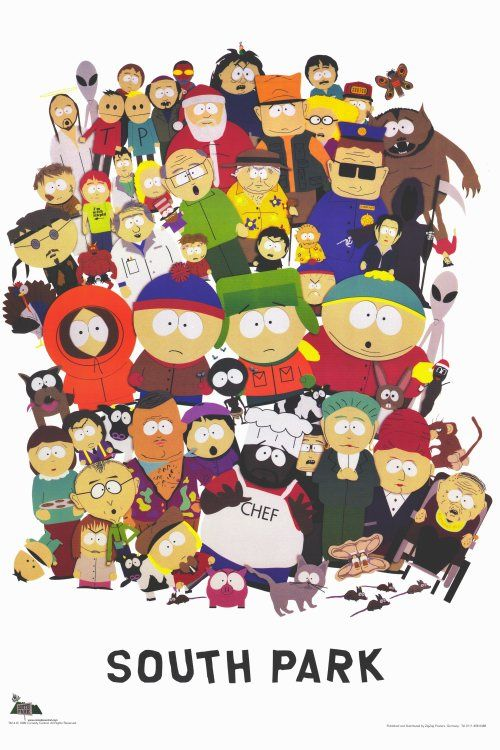 South Park - such a funny show and I've loved it from day one, episode one, although I have to say its plots have become increasingly controversial and even disturbing over the years - Cartman (he's not fat, he's big-boned) will, however, always be my hero
