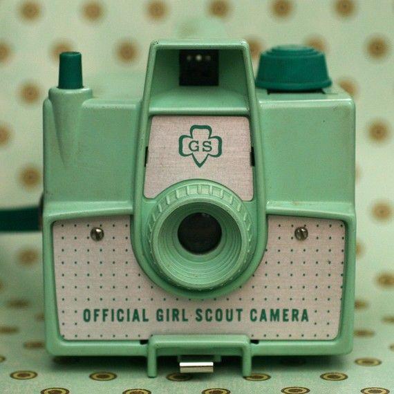 Girl scout camera - so cute!