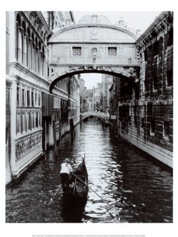 "An escape - Venice.  ""A realist, in Venice, would become a romantic by mere faithfulness to what he saw before him."""