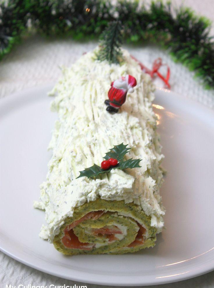 Découvrez la recette Bûche de Noël salée en trompe l'oeil saumon fumé : ceci n'est pas une bûche ! sur cuisineactuelle.fr.