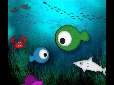 ▶ En el fondo del mar (canción infantil) - YouTube