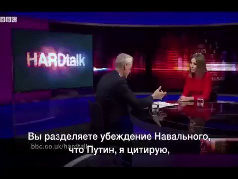 Ksenia Sobchak, speaking English to the BBC, says the whole Russian system is corrupt and it was built by Putin