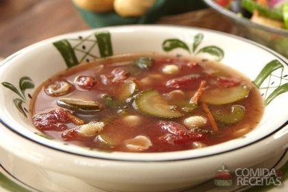 Receita de Sopa italiana em receitas de sopas e caldos, veja essa e outras receitas aqui!