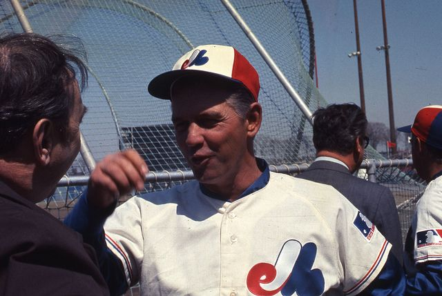 Gene Mauch at Jarry Park. 1969