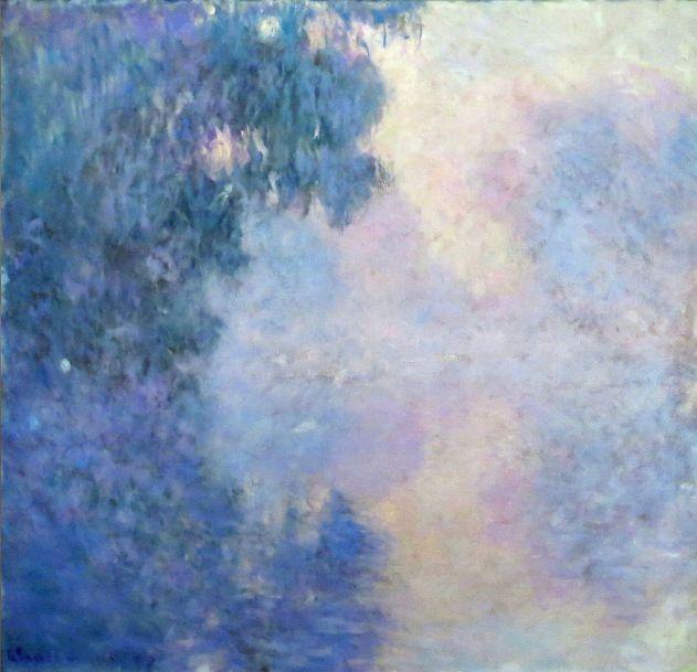 Lemond (Claude Monet (via Arm of the Seine near Giverny in...)
