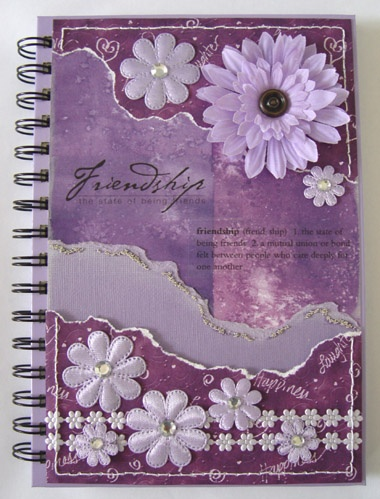 Decorated Notebooks...need to do more of these!