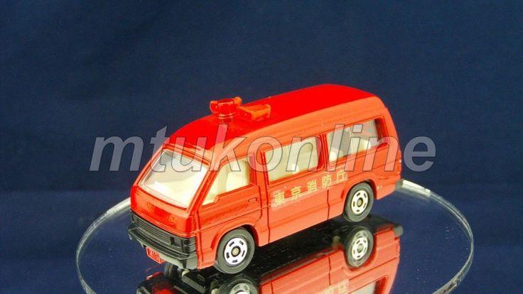 TOMICA 119 HIACE FIRE CHIEF CAR | 1/66 | JAPAN | 119B-9 | NEW WINDOW SHAPE