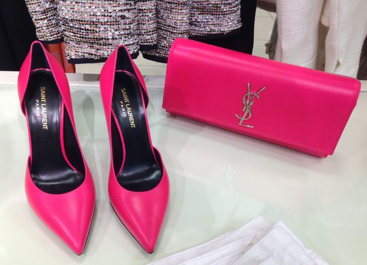 Pink Ysl | Shoes I LOVE | Pinterest | Hot Pink Shoes, Pink Shoes ...