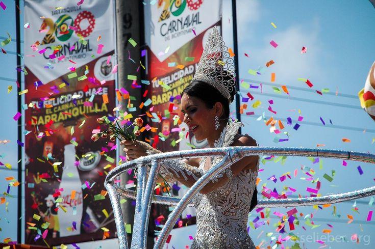 Karnevalskönigin in Barranquilla  #Kolumbien #Karneval #Barranquilla #reiselieber