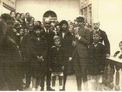 """""""Alfonso XIII en el balneario de Liérganes (Cantabria), principios del siglo XX""""."""