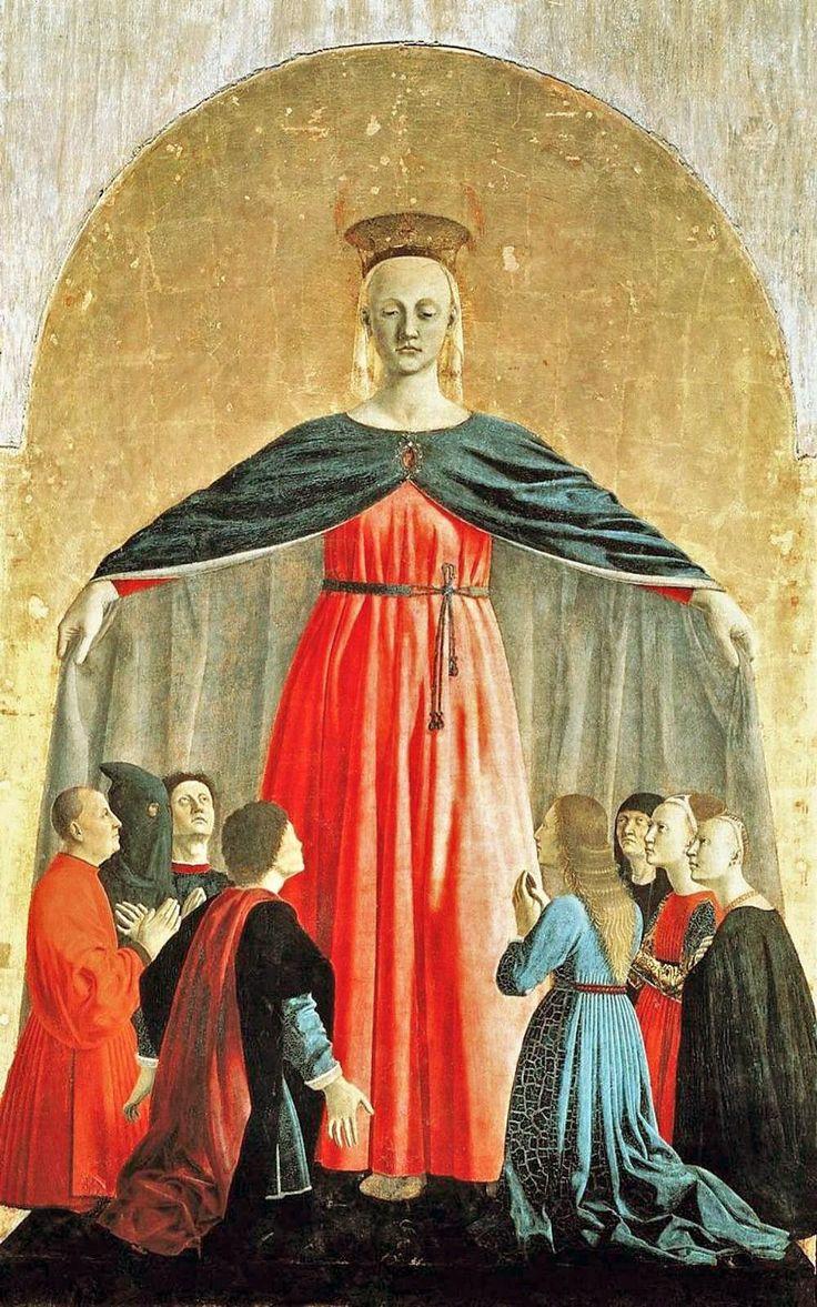 The Virgin of Mercy by Piero della Francesca, 1460-62.