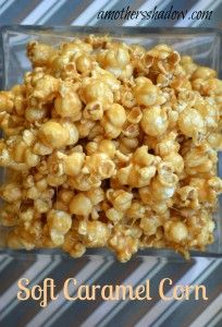 Soft  Creamy ooey-goey creamy Caramel Corn.  Passed down from generation to generation and has stood the test of time - Fabulous!  www,amothersshadow.com #caramelcorn #dessert #popcorn