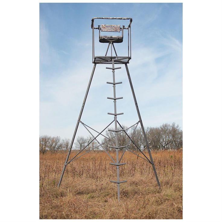Sniper® 15 1/2 foot Deluxe Tripod Tree Stand