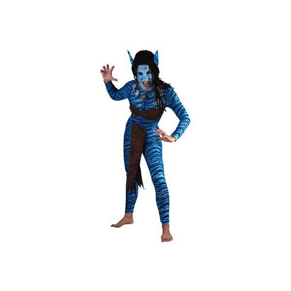 Disfraz de Guerrera de la Jungla. Seras como la protagonista de la pelicula Avatar.