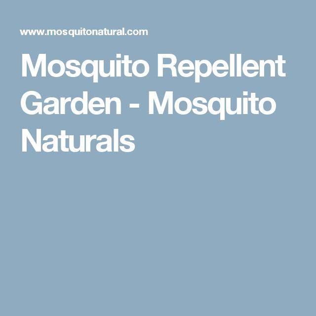 Mosquito Repellent Garden - Mosquito Naturals