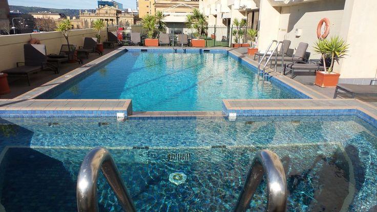 Heated Pool at the Hilton Adelaide Hotel, South Australia
