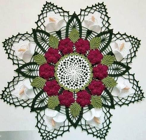 Crochet doily inspiration