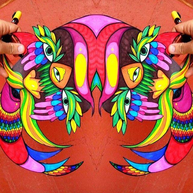 #art #color #arte #color #illustration #ilustración #posca #poscagallery #draw #drawing #dibujo #dibujando #inspiración #inspiration #energia #enjoy #paint #painting #stiker #streetart