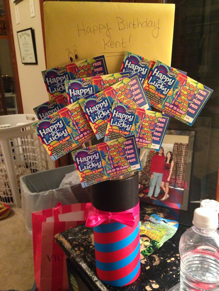 gift basket ideas with scratch off tickets pics   just b.CAUSE