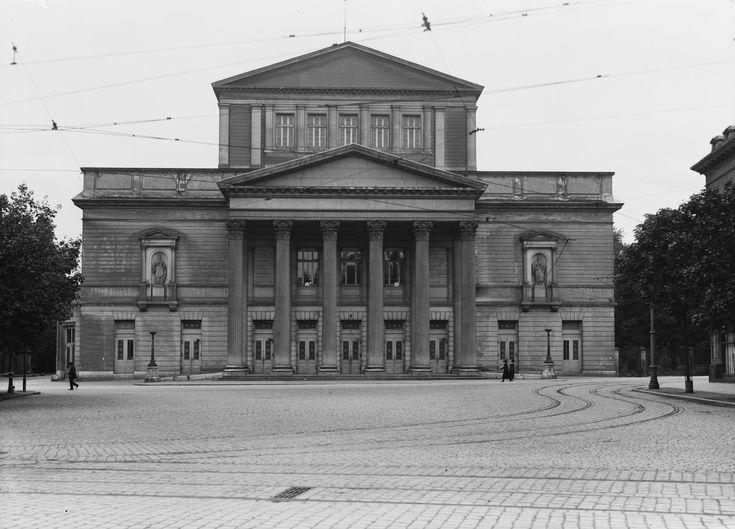 Ehemaliges Hoftheater   Darmstadt   Georg Moller   Bildindex der Kunst & Architektur