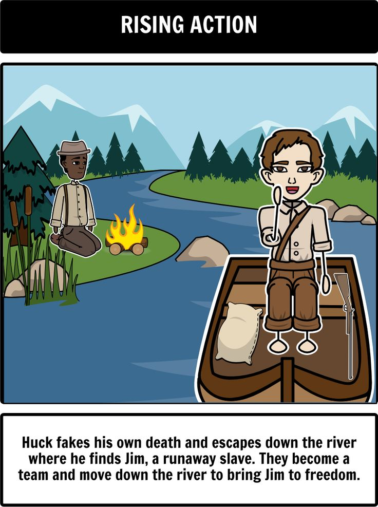 the plot and setting analysis of mark twains novel adventures of huck finn The adventures of huck finn by mark twain summary of the book aunt douglas,   in the story huckleberry finn, by mark twain, the river symbolizes freedom.