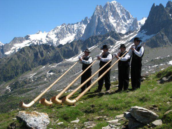 Alphorn, Switzerland