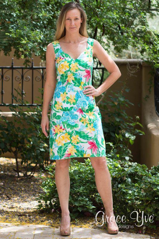 27 best Kleider images on Pinterest | Dawanda com, Schnittmuster und ...