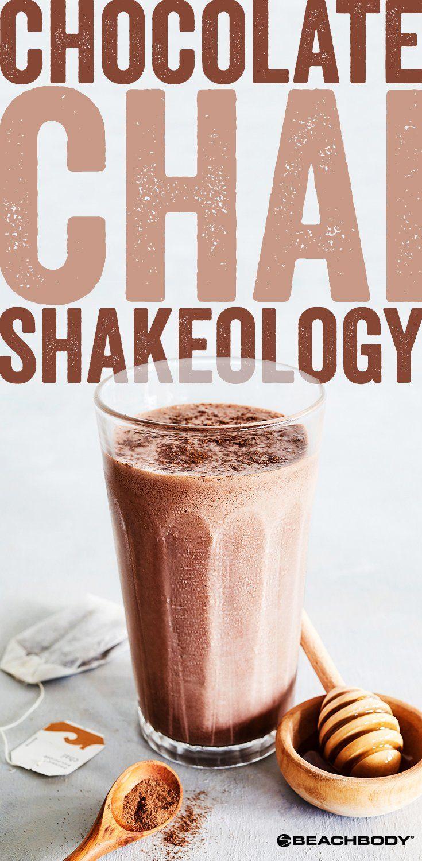 Chocolate Chai Shakeology smoothie recipe // Shakeology recipes // 21 Day fix recipe // healthy smoothie recipes // Beachbody // Beachbody Blog // #smoothierecipes #shakeology #21dayfix #beachbody