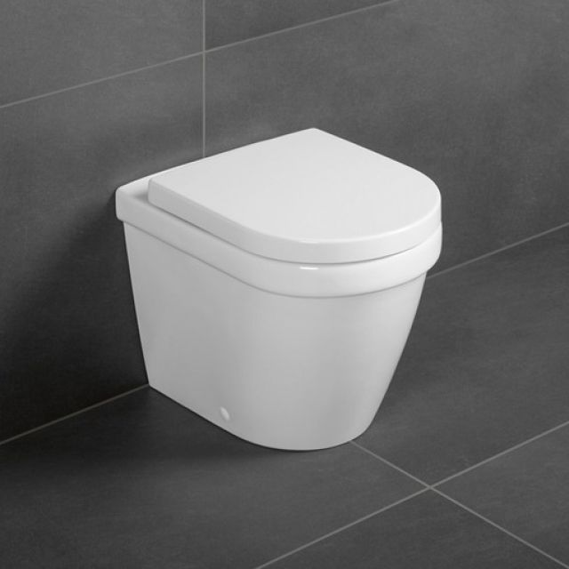 Villeroy And Boch Architectura Floorstanding Rimless Wc Back To Wall Toilets Small Bathroom Toilet