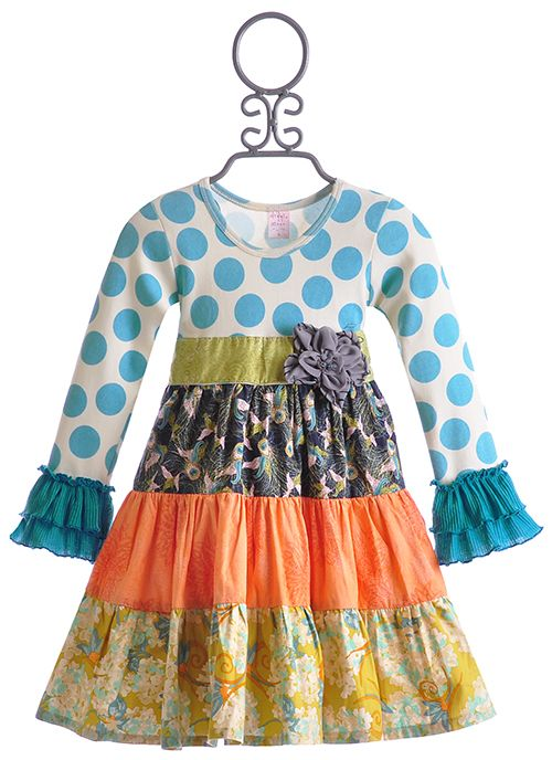 Giggle Moon Streams of Water Party Dress for Girls $69.00