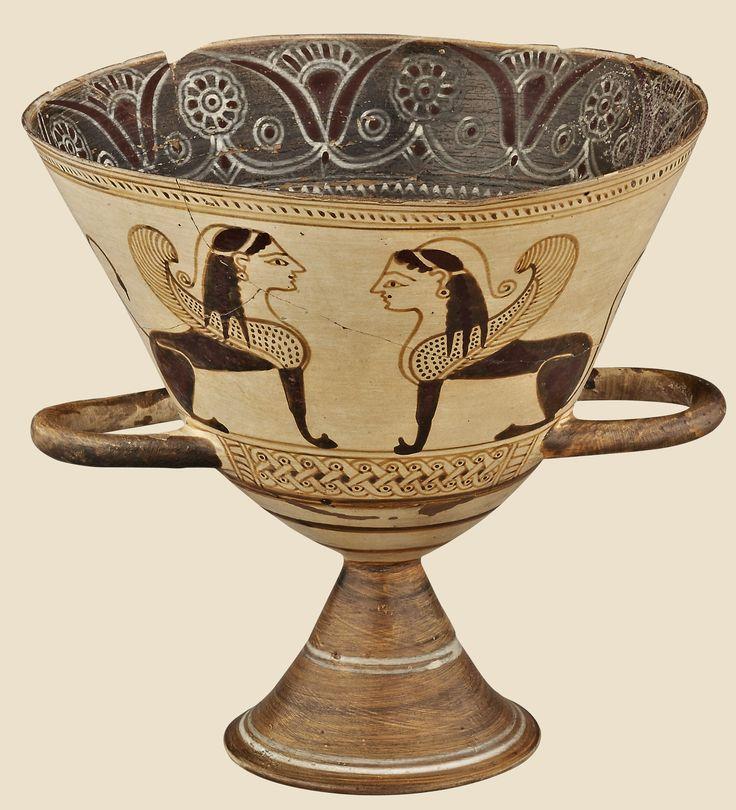 Caliz de la antigua Macedonia,periodo de Alejandro Magno,Museo del Louvre