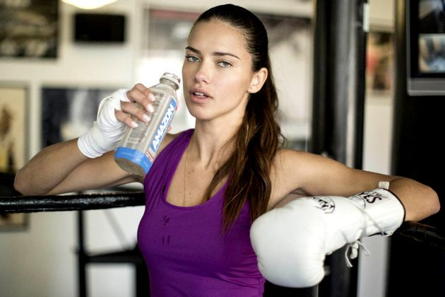 Supermodel Diet and Exercise: Adriana Lima's Secrets - Victoria's Secret Angel Adriana Lima is always in shape and looking her best. Discover a few of her personal diet and exercise tips for keeping your body toned.