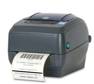 BESSERDRUCKEN: ZEBRA #GK420T der preisgünstige Etikettendrucker ...