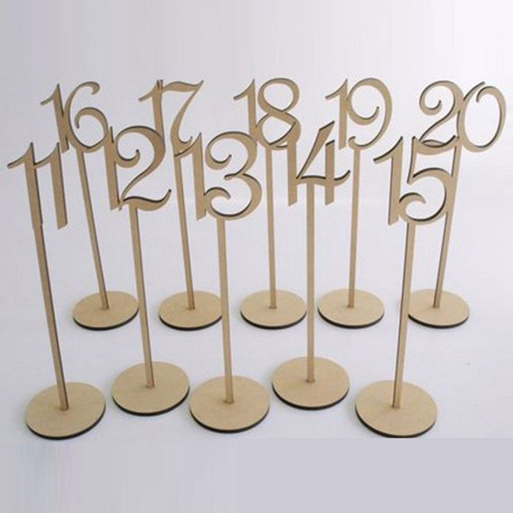 Best 25 Wedding Table Numbers Ideas On Pinterest Table