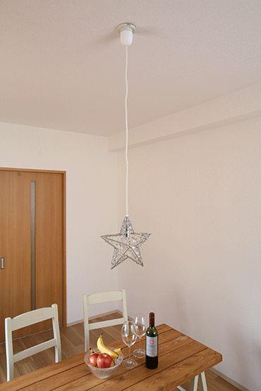 星に願いを ペンダントライト  W270×D100×H270mm コード長100mm 0.6kg 9240