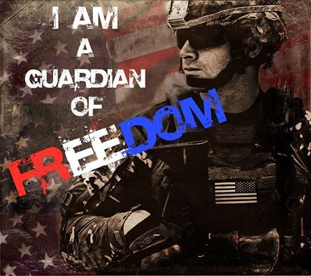 Am a guardian of freedom and the american way of life jq
