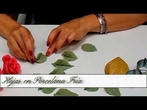 Hojas en Porcelana Fria - YouTube
