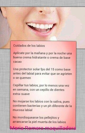 Cuidados de los labios